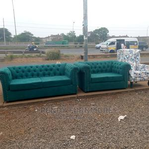 3*2 Chesterfield 5 Seater Sofa Wingback Chair   Furniture for sale in Nairobi, Kahawa