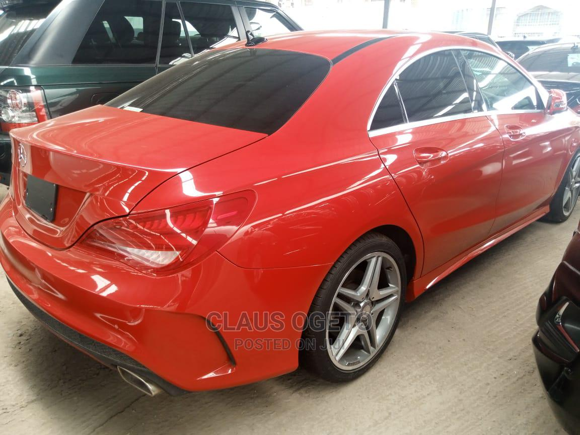 Archive: Mercedes-Benz CLA-Class 2014 Red