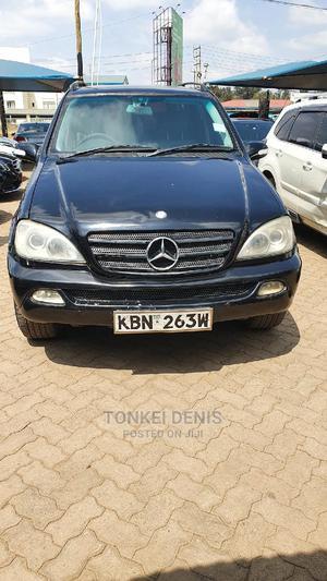 Mercedes-Benz M Class 2004 ML 350 Black   Cars for sale in Nairobi, Karen