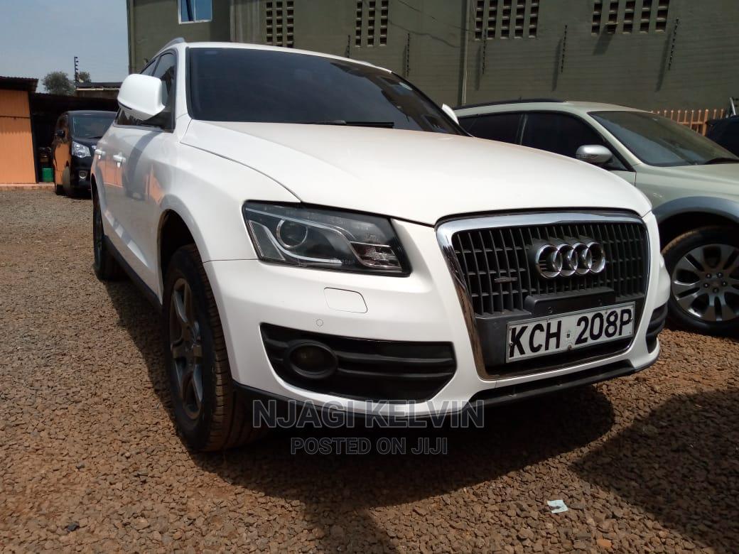 Audi Q5 2012 White
