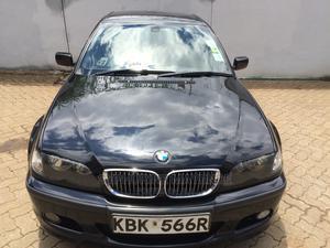 BMW 318i 2004 Black | Cars for sale in Nairobi, Mbagathi Way