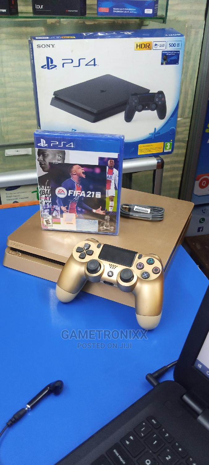 Playstation 4 Console Slim With Fifa 21