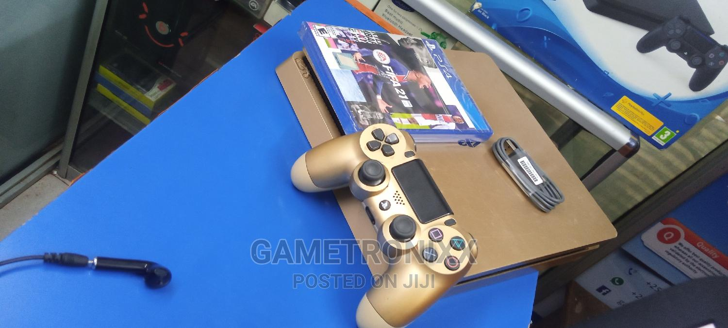 Playstation 4 Console Slim With Fifa 21 | Video Game Consoles for sale in Nairobi Central, Nairobi, Kenya
