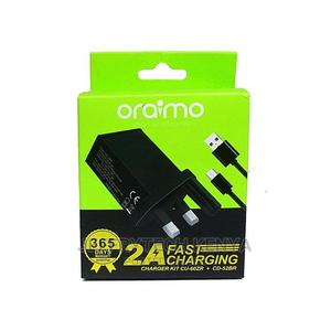Oraimo Original Oraimo Fast Charger -black   Accessories & Supplies for Electronics for sale in Nairobi, Nairobi Central