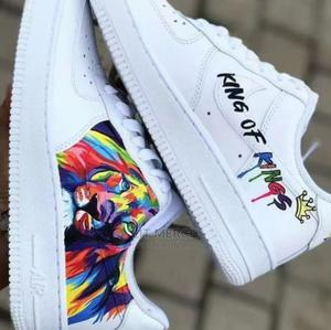 Customize King Of Kings Nike Airforce One Sneakers   Shoes for sale in Nairobi, Nairobi Central