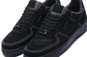 Nike Airforce One Black Fashion Sneakers   Shoes for sale in Nairobi, Nairobi Central
