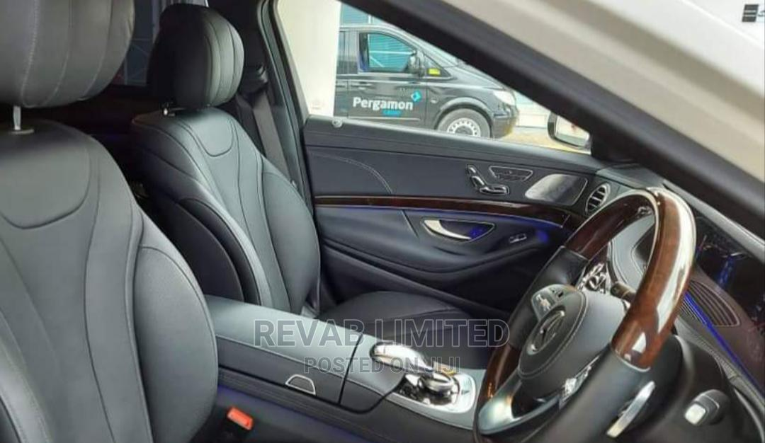 Archive: Mercedes-Benz S Class 2019 White
