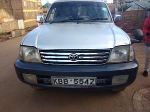 Toyota Land Cruiser Prado 2001 Silver | Cars for sale in Nairobi, Kasarani