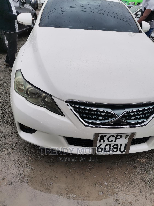 Toyota Mark X 2010 White | Cars for sale in Ganjoni, Mombasa, Kenya