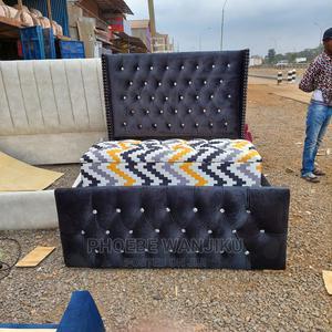 5 by 6 Modern Bed + Ottoman | Furniture for sale in Nairobi, Kahawa