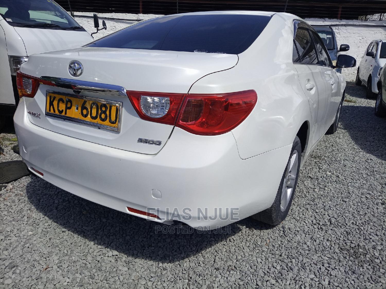 Archive: Toyota Mark X 2011 White