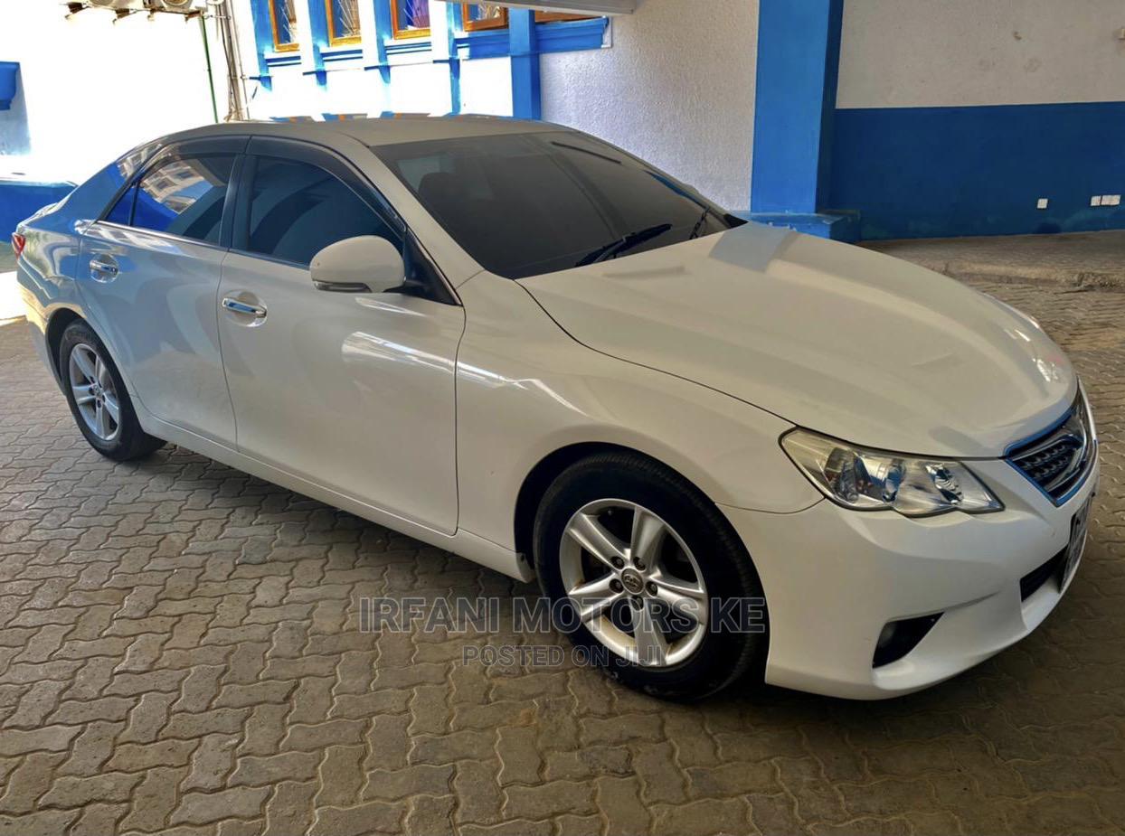 Toyota Mark X 2012 White   Cars for sale in Makadara (Msa), Mombasa, Kenya