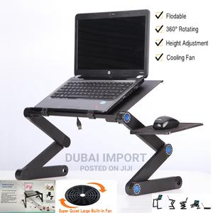 Portable Laptop Table With Fan | Computer Accessories  for sale in Nairobi, Nairobi Central
