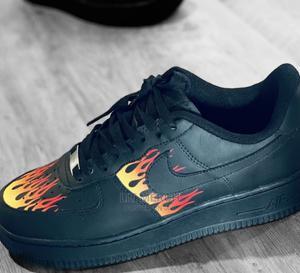 Designer Nike Airforce Black Thrasher Sneakers   Shoes for sale in Nairobi, Nairobi Central