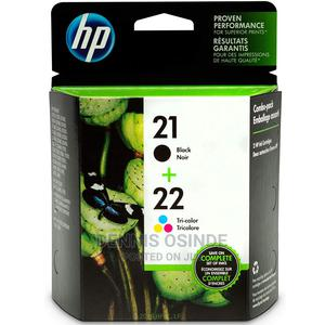 HP 21   2 Ink Cartridges   Black, Tri-Color   C9351AN, C9352   Accessories & Supplies for Electronics for sale in Nairobi, Nairobi Central