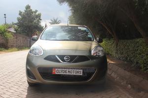 Nissan March 2014 Green   Cars for sale in Nairobi, Ridgeways