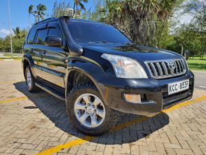 Toyota Land Cruiser Prado 2008 GRANDE Black | Cars for sale in Mombasa, Ganjoni