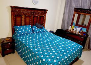Used Nice 5/6 Bed With Strong Spring Mattress | Furniture for sale in Nairobi, Nairobi South