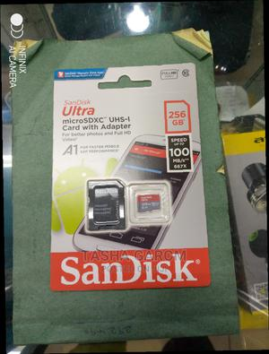 Sandisk Ultra C-10 256 Micro Sd.   Accessories for Mobile Phones & Tablets for sale in Nairobi, Nairobi Central