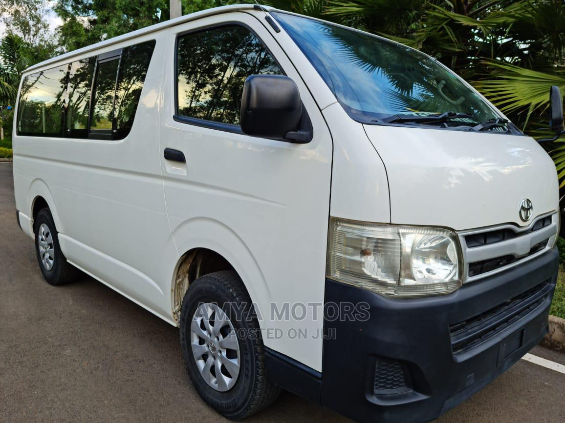 Archive: Toyota Hiace 2012 DIESEL Automatic Not Locally Used
