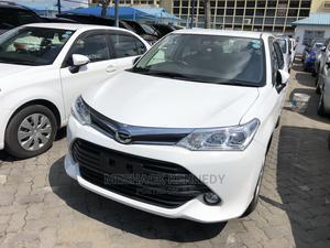 Toyota Axio 2015 White   Cars for sale in Mombasa, Mombasa CBD