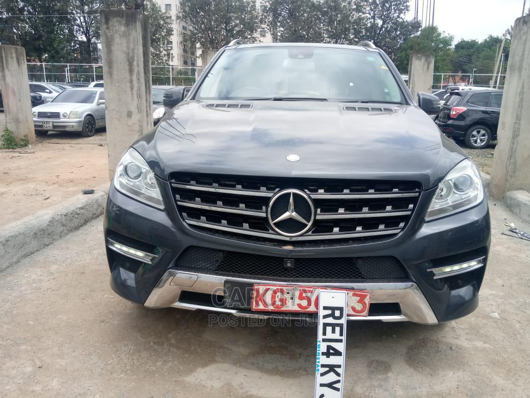 Archive: Mercedes-Benz M Class 2014 Gray