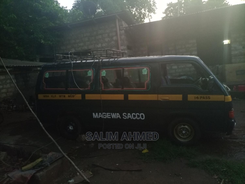 Archive: Nissan Td27 Matatu