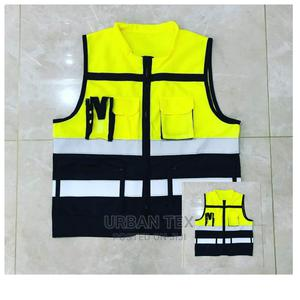 Green Unisex Executive Reflector Vests | Safetywear & Equipment for sale in Nairobi, Nairobi Central