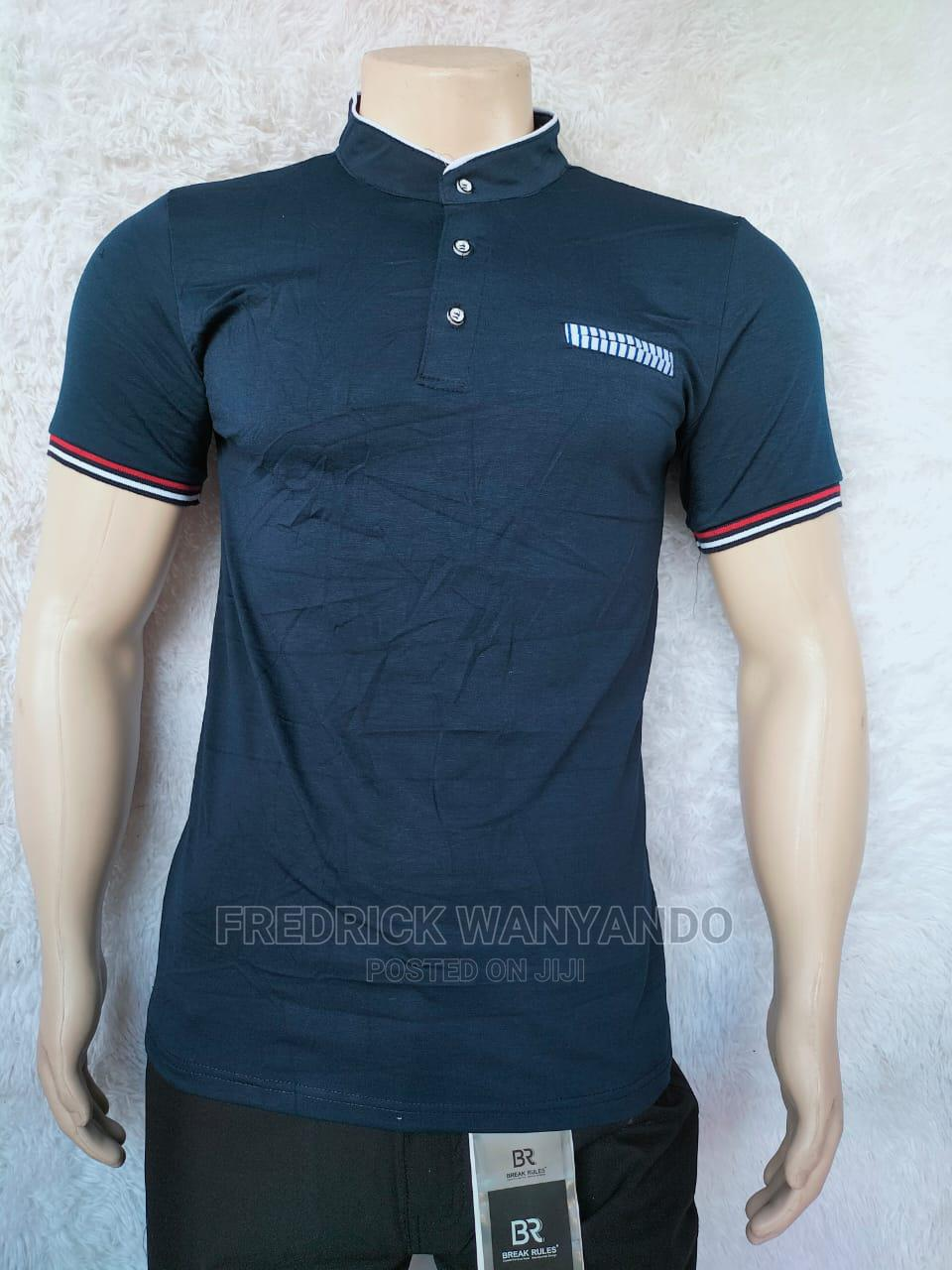 Chinese Collar T-Shirts Now Available