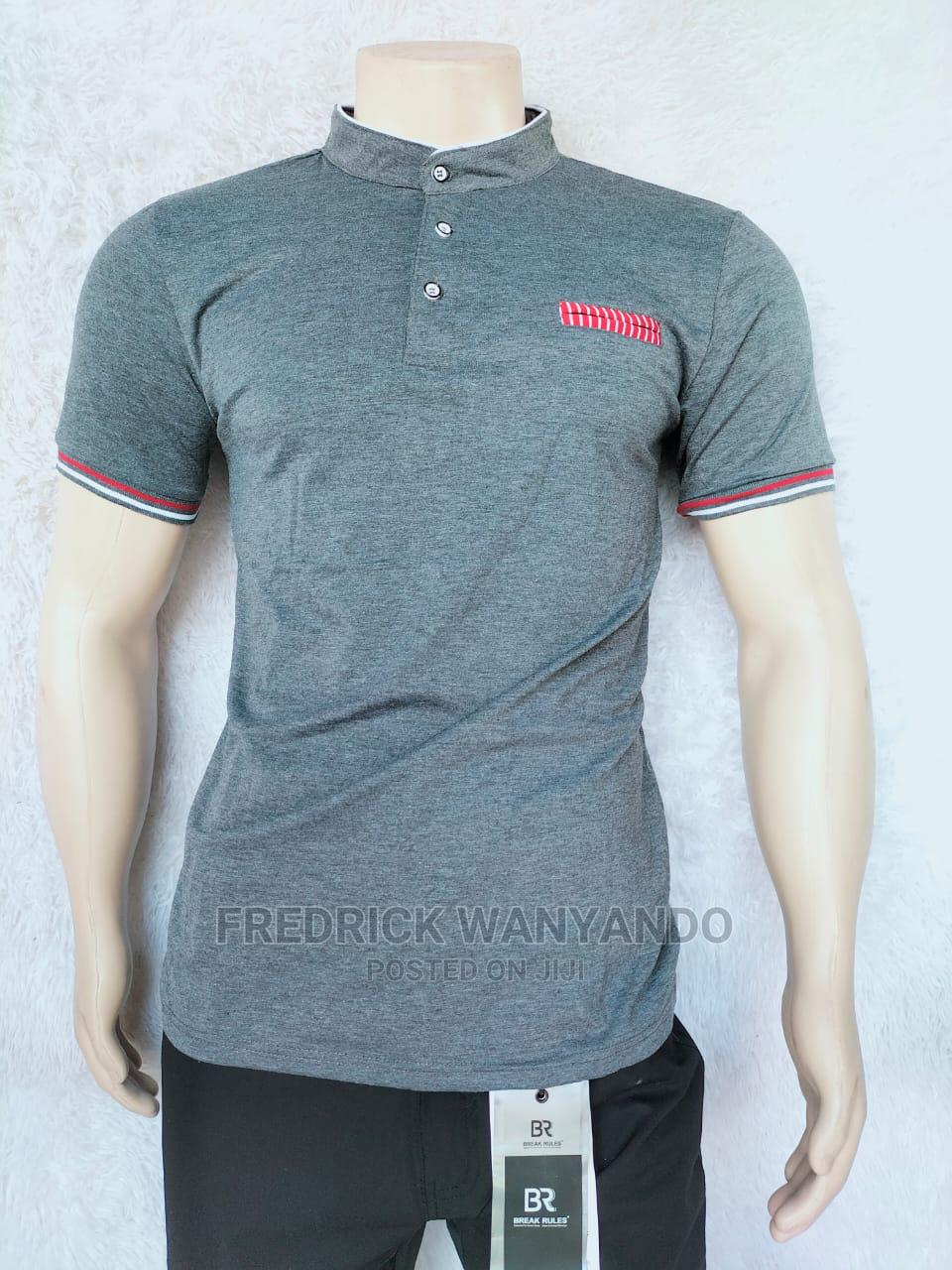 Chinese Collar T-Shirts Now Available | Clothing for sale in Central Kamagambo, Migori, Kenya