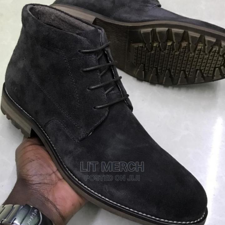 Quality Billionaire Leather Casual Boots