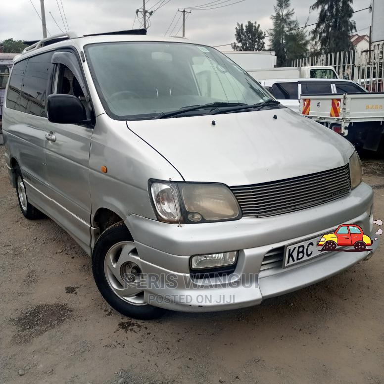 Archive: Toyota Noah 2002 Silver