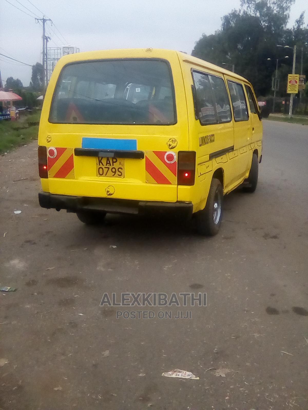 Archive: Nissan School Van Matatu.