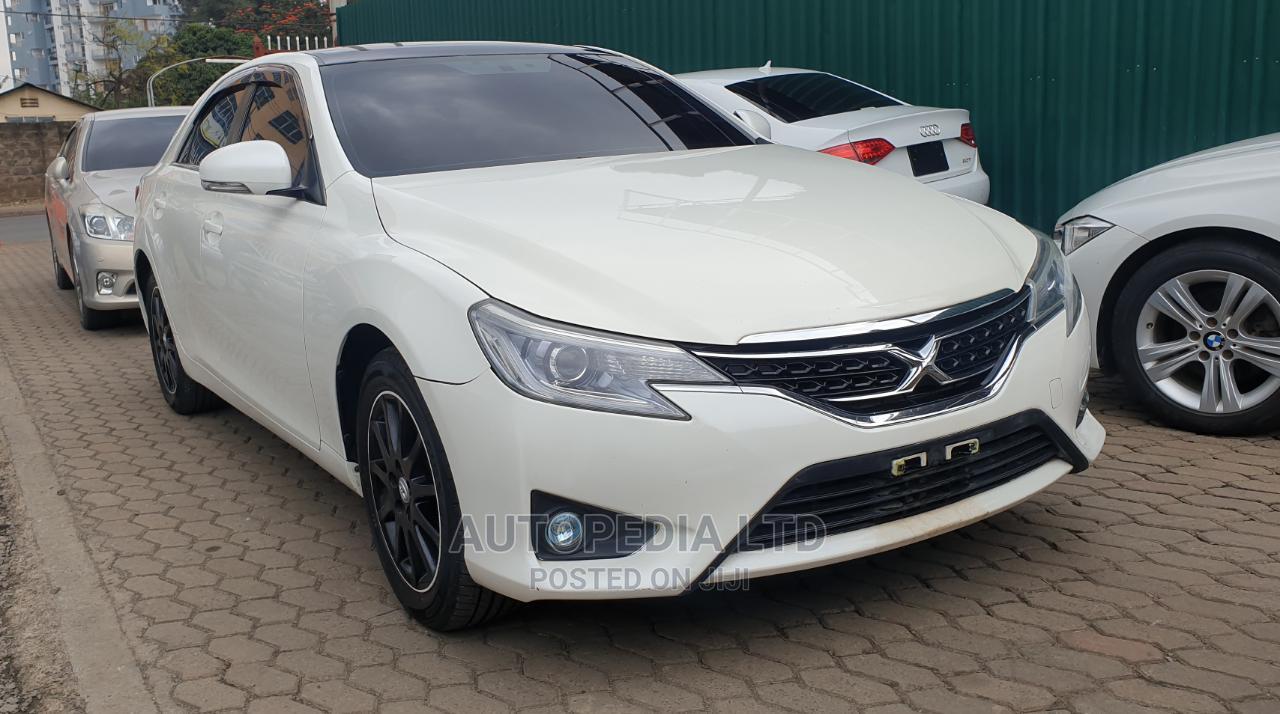 Toyota Mark X 2012 White