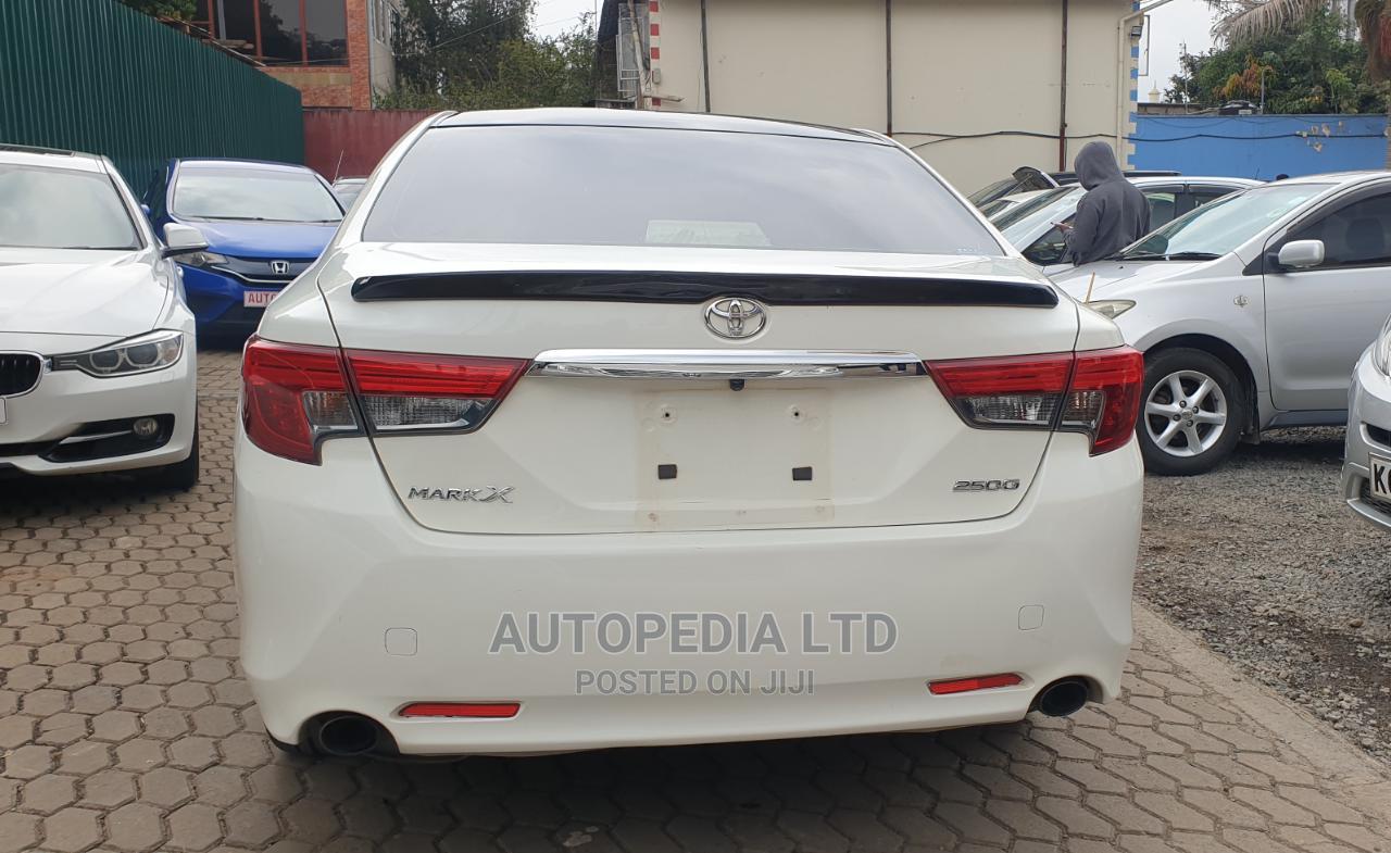 Toyota Mark X 2012 White   Cars for sale in Kilimani, Nairobi, Kenya