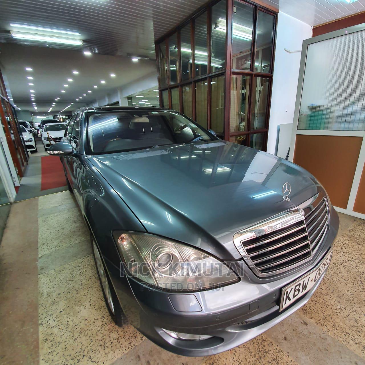 Mercedes-Benz S Class 2009 Gray | Cars for sale in Eldoret CBD, Uasin Gishu, Kenya