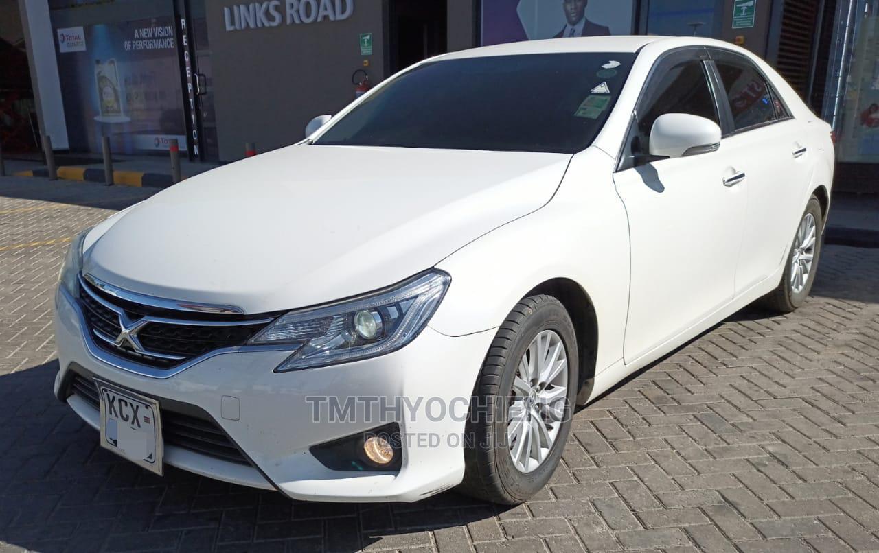 Toyota Mark X 2013 White   Cars for sale in Mombasa CBD, Mombasa, Kenya