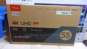Tcl 55 Inches Smart Android 4k Uhd P618 Tv | TV & DVD Equipment for sale in Nairobi, Nairobi Central