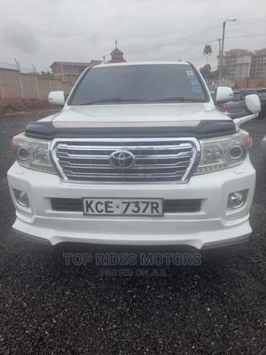 Toyota Land Cruiser 2009 White | Cars for sale in Nairobi, Thome