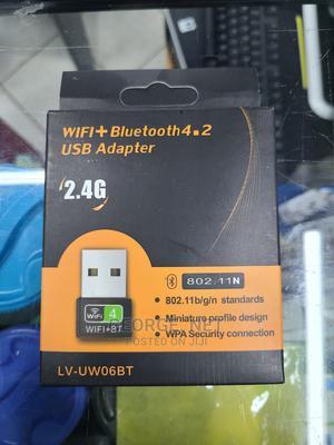 Wifi + Bluetooth USB Adapter | Computer Accessories  for sale in Mombasa, Mombasa CBD