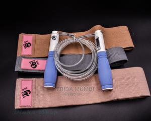 3 Pieces Workout Resistance Bands + Skipping Rope | Sports Equipment for sale in Nairobi, Nairobi Central