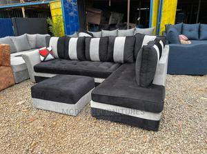 L Seat Sofa With Ottonman | Furniture for sale in Nairobi, Kahawa