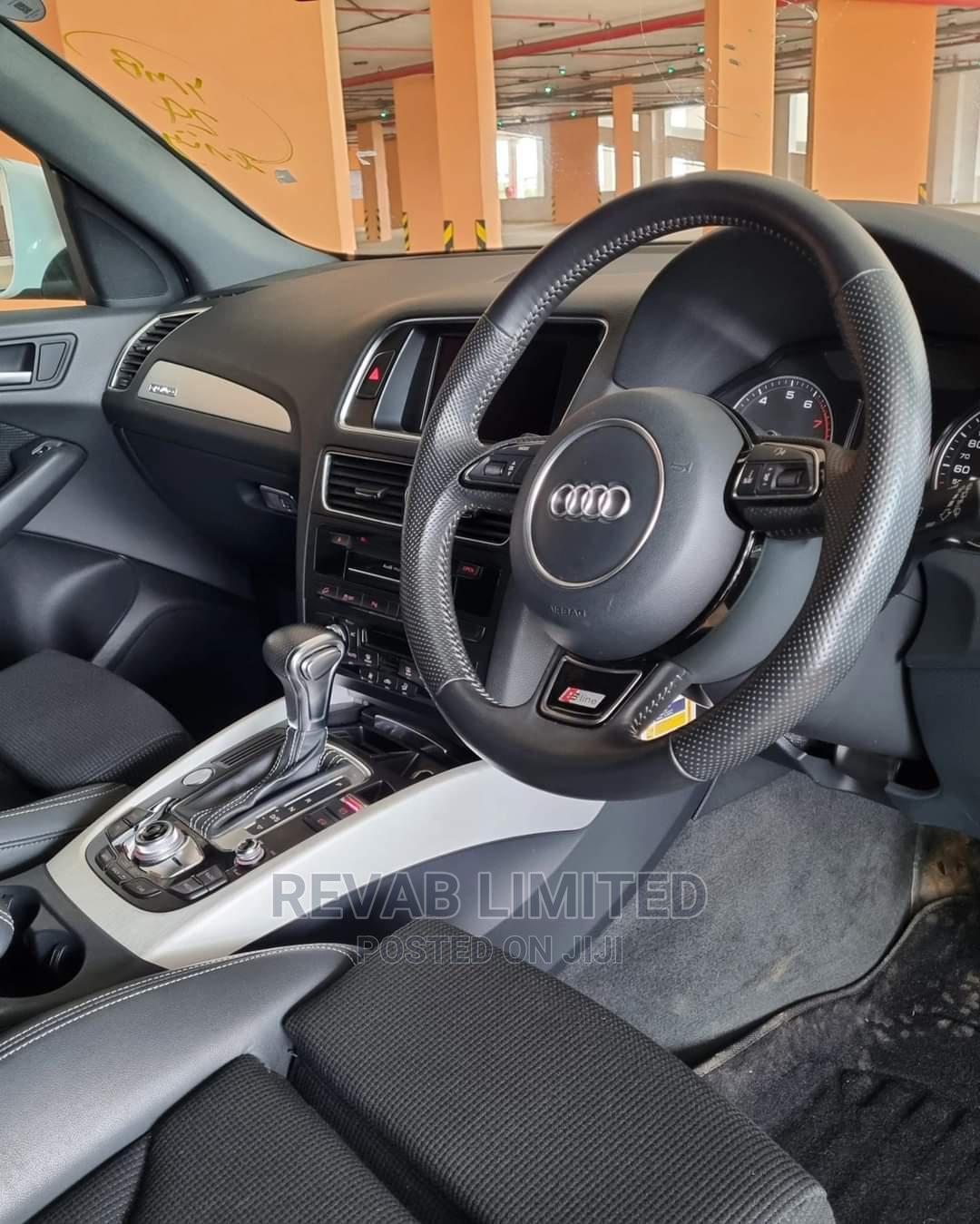 Archive: Audi Q5 2014 White