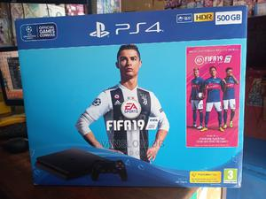 PS4 Slim 500gb With 2 Controllers | Video Game Consoles for sale in Mombasa, Bamburi