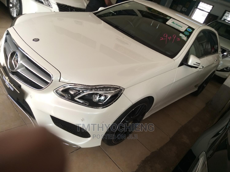 Mercedes-Benz E250 2014 White   Cars for sale in Mombasa CBD, Mombasa, Kenya