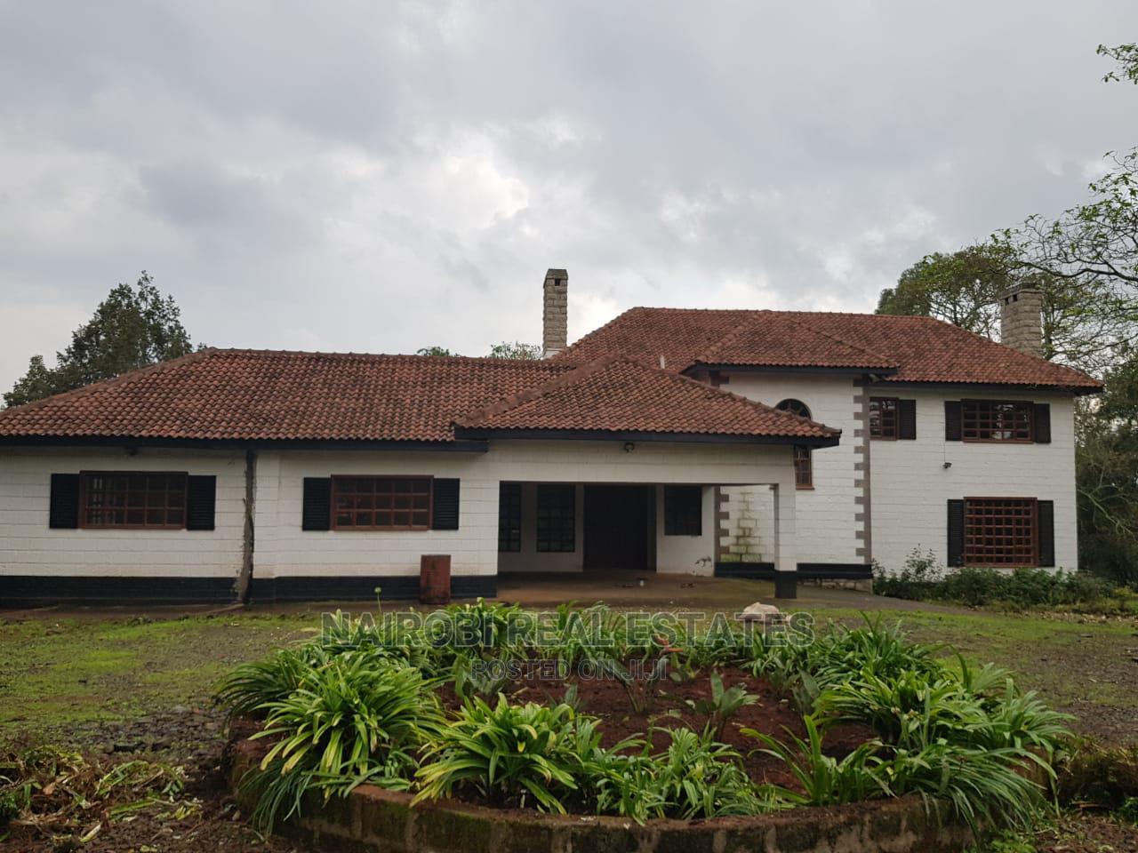 4bdrm Farm House in Tigoni for Rent