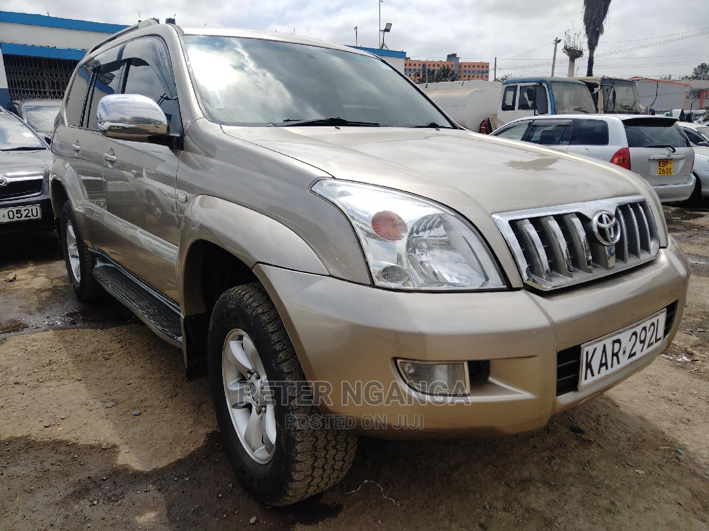 Archive: Toyota Land Cruiser Prado 2004 Gold
