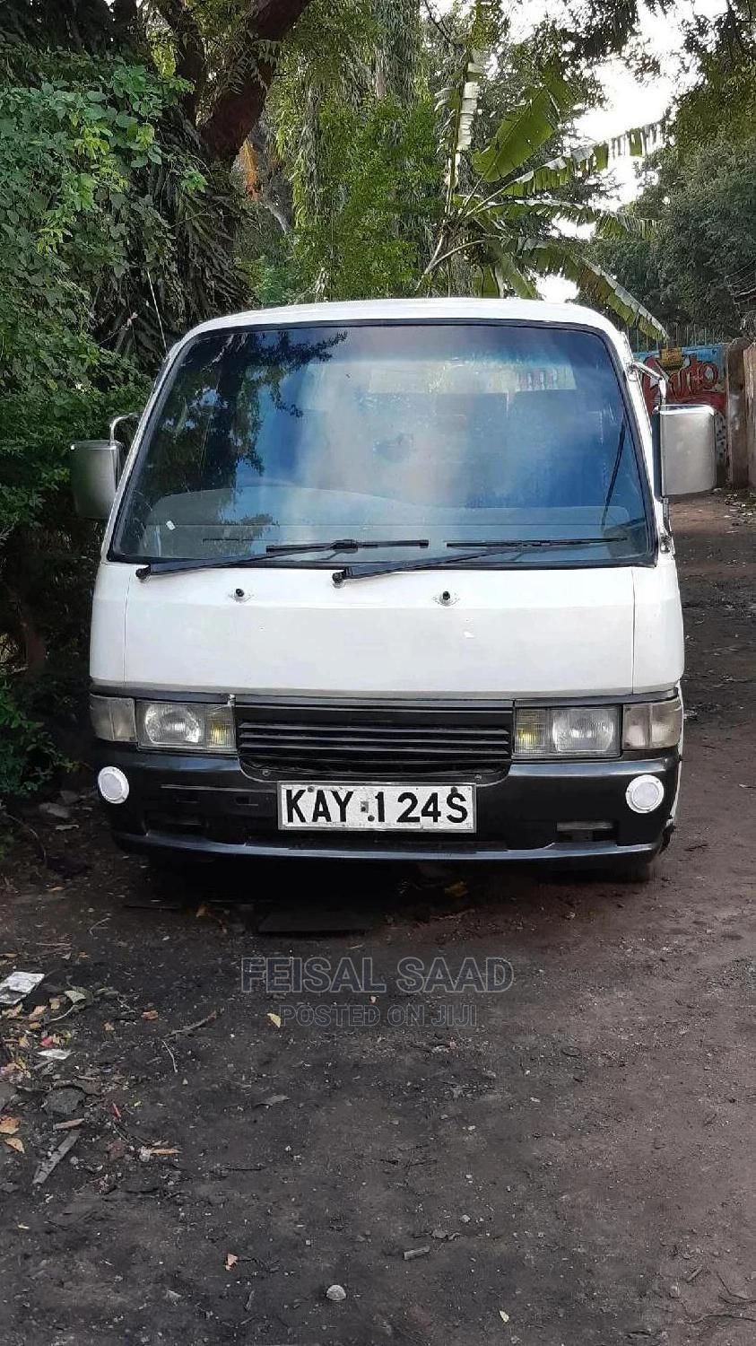 Archive: Nissan Matatu for Sale Fitted With New Doors and New Engine