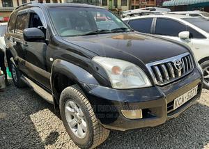 Toyota Land Cruiser Prado 2008 3.0 D-4d 5dr Black | Cars for sale in Nairobi, Nairobi Central