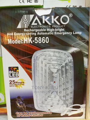Akko 5860 Emergency Lamp | Home Accessories for sale in Nairobi, Nairobi Central